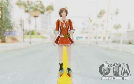 Dynasty Warriors 7 Sun Shangxiang School DLC para GTA San Andreas segunda tela
