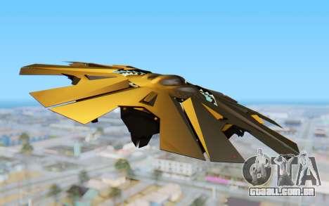 GTA 5 UFO B-2 Style para GTA San Andreas vista direita