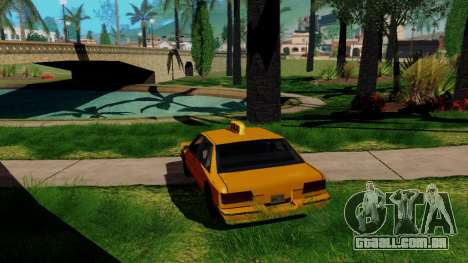 GeForce ENB para PC fraco para GTA San Andreas terceira tela