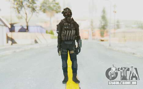 Federation Elite SMG Tactical para GTA San Andreas segunda tela