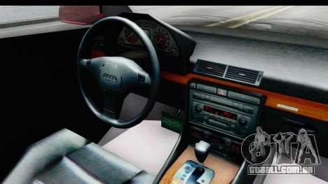 Audi A6 C5 Avant Sommerzeit para GTA San Andreas vista interior