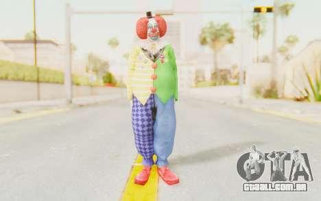 Dead Rising - Adam Macintyre The Clown para GTA San Andreas segunda tela