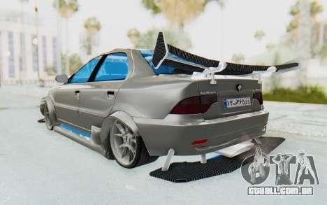 Ikco Soren Full Sport para GTA San Andreas esquerda vista