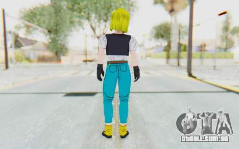 Dragon Ball Xenoverse Android 18 Cell Tournament para GTA San Andreas terceira tela