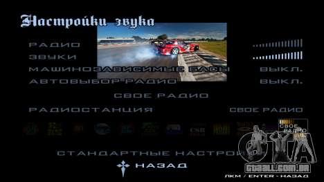 New menu para GTA San Andreas oitavo tela