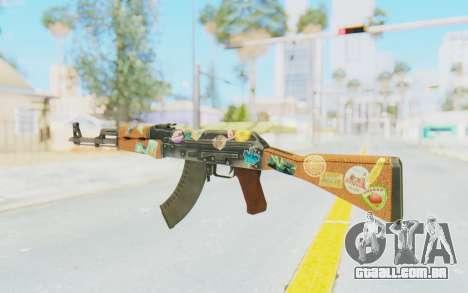 CS:GO - AK-47 Jetset para GTA San Andreas segunda tela