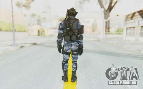 Federation Elite Assault Urban-Navy para GTA San Andreas terceira tela