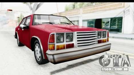 Ford Fairmont from Bully para GTA San Andreas vista direita