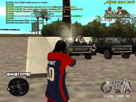C-HUD Smoke Weed 420 para GTA San Andreas terceira tela