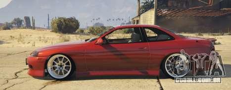 GTA 5 Lexus SC300 vista lateral esquerda