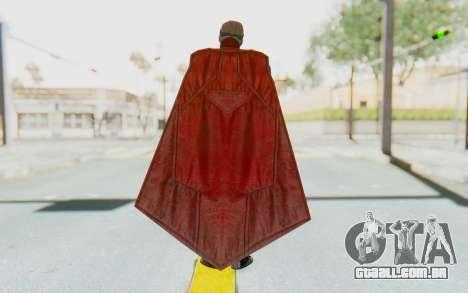 Injustice 2 - Superman para GTA San Andreas terceira tela