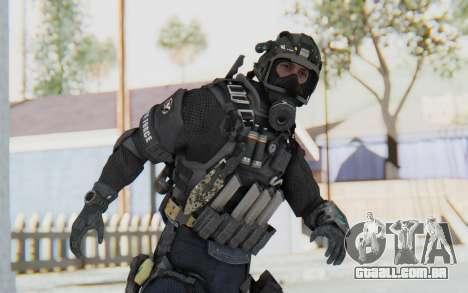 Federation Elite SMG Tactical para GTA San Andreas
