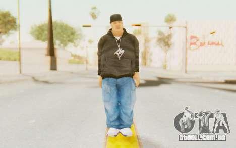 Def Jam Fight For New York - Fat Joe para GTA San Andreas segunda tela