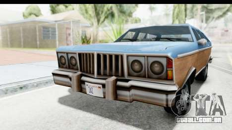 Pontiac Bonneville Safari from Bully para GTA San Andreas vista direita