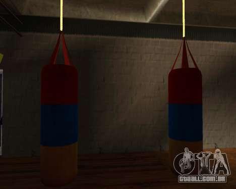 Pêra estilo de Boxe do armênio bandeira para GTA San Andreas terceira tela