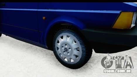 Fiat 147 Spazio TR Stock para GTA San Andreas vista traseira