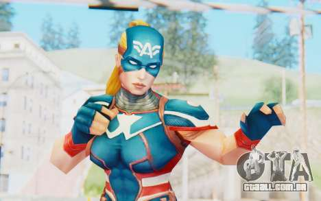 Marvel Future Fight - Captain America (2099) para GTA San Andreas