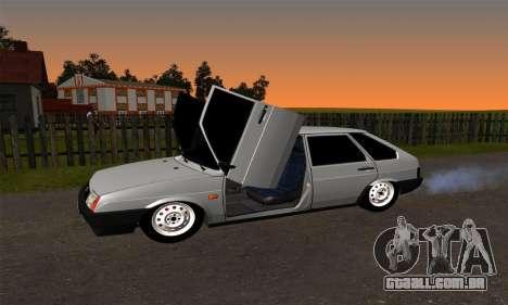 2109 para GTA San Andreas vista superior