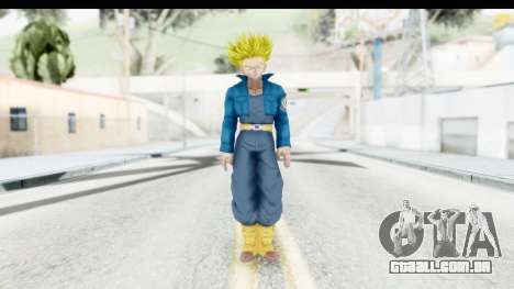 Dragon Ball Xenoverse Future Trunks SSJ1 para GTA San Andreas segunda tela
