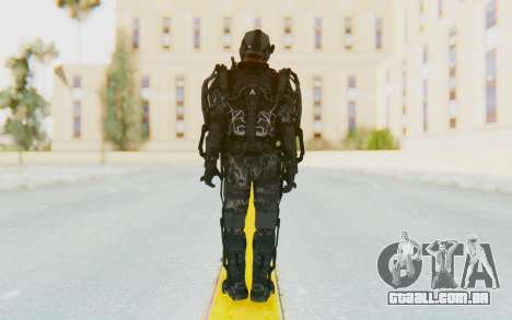 CoD Advanced Warfare ATLAS Soldier 2 para GTA San Andreas terceira tela