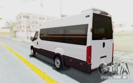 Iveco Daily Minibus 2015 para GTA San Andreas esquerda vista
