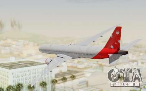 Boeing 777-300ER Virgin Australia v1 para GTA San Andreas vista direita