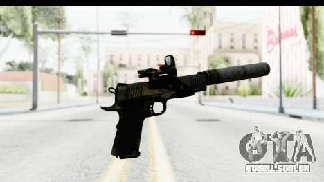 FarCry 3 - Colt 1911 Silenced para GTA San Andreas terceira tela