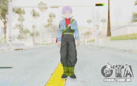 Trunks Del Futuro v1 para GTA San Andreas segunda tela