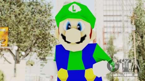 Luigi para GTA San Andreas