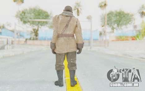 COD BO Lev Kravchenko Winter para GTA San Andreas terceira tela