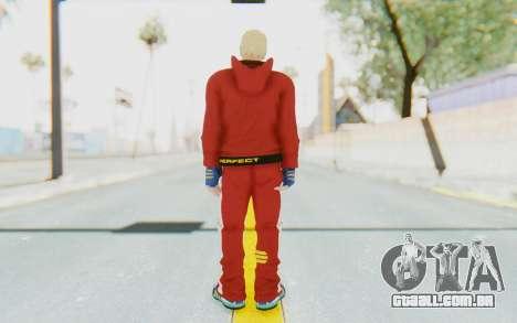 Slim Bob Skin para GTA San Andreas terceira tela