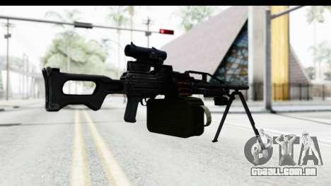 Kalashnikov PK (PKM) para GTA San Andreas terceira tela