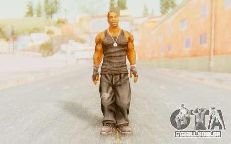 Def Jam Fight For New York - Busta Rhymes para GTA San Andreas segunda tela