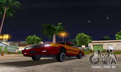 New Tahoma from GTA 5 para GTA San Andreas vista traseira