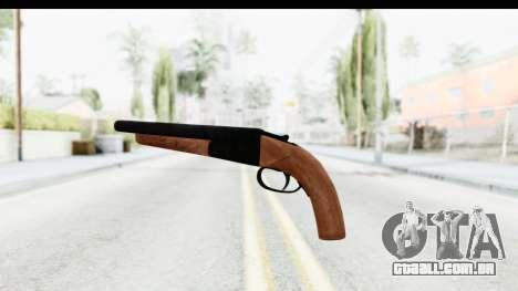 GTA 5 Double Barrel Sawn-Off para GTA San Andreas segunda tela