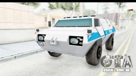 Hermelin TM170 Polizei para GTA San Andreas