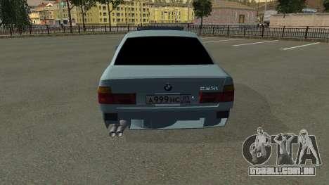 BMW 535i Gang para vista lateral GTA San Andreas