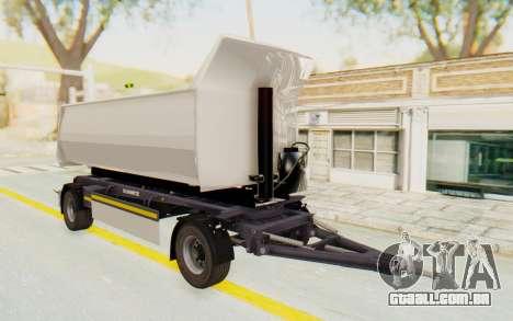 MAN TGA Energrom Edition Trailer v2 para GTA San Andreas