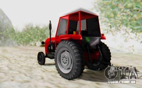 IMT 539 Deluxe para GTA San Andreas esquerda vista