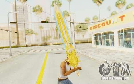 Blade of Olympus para GTA San Andreas terceira tela