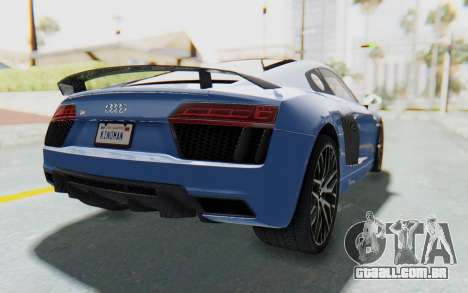 Audi R8 2017 para GTA San Andreas