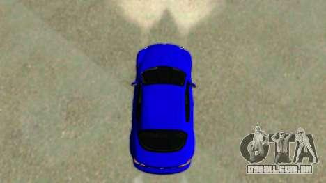 Mazda RX-8 para GTA San Andreas traseira esquerda vista