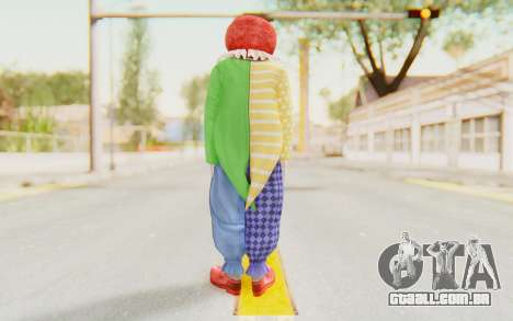 Dead Rising - Adam Macintyre The Clown para GTA San Andreas terceira tela