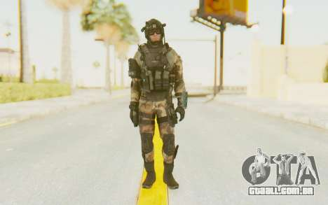 Federation Elite Assault Woodland-Flora para GTA San Andreas segunda tela