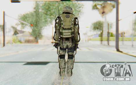 CoD AW US Marine Assault v4 Head D para GTA San Andreas terceira tela