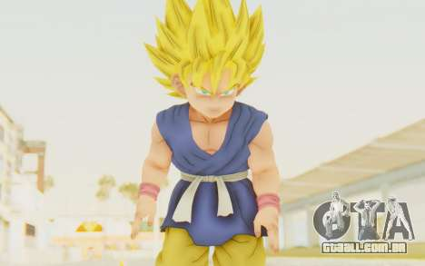 Dragon Ball Xenoverse Goku Kid GT SSJ para GTA San Andreas