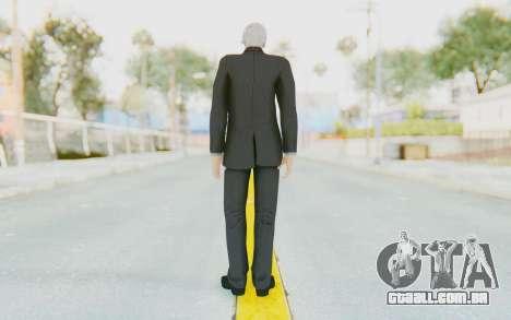 Lee Chaolan para GTA San Andreas terceira tela