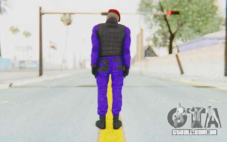 Bahrain Officer para GTA San Andreas terceira tela