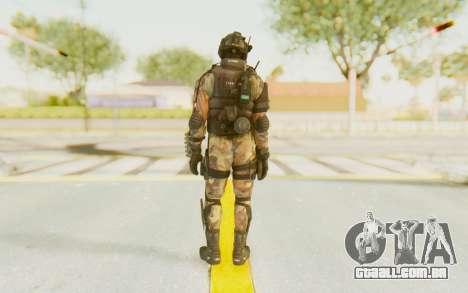 Federation Elite Shotgun Woodland-Flora para GTA San Andreas terceira tela