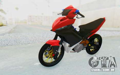 Yamaha Jupiter MX 135 Semi Roadrace para GTA San Andreas vista direita